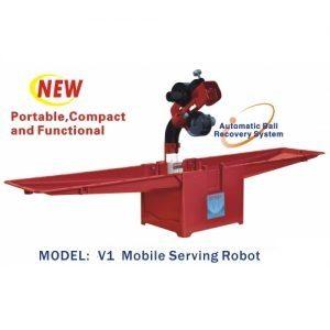 ربات پینگ پنگ اویکی V1 ربات تنیس روی میز پرتابل